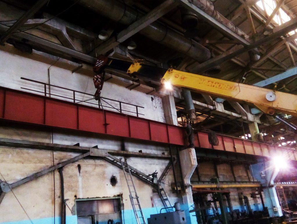 Монтаж подкрановых путей опорного мостового крана Ижевск