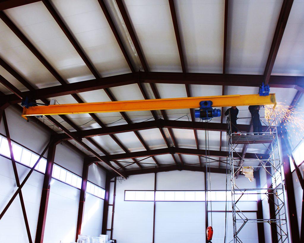 Подвесной мостовой кран г/п 5т пролет 12м