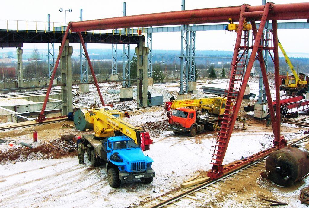 Монтаж грузового оборудования